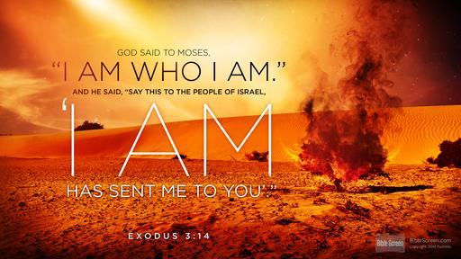 Exodus 1-3